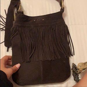 UGG Crossbody fringe bag